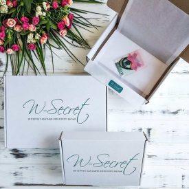 Фирменный коробок w-secret