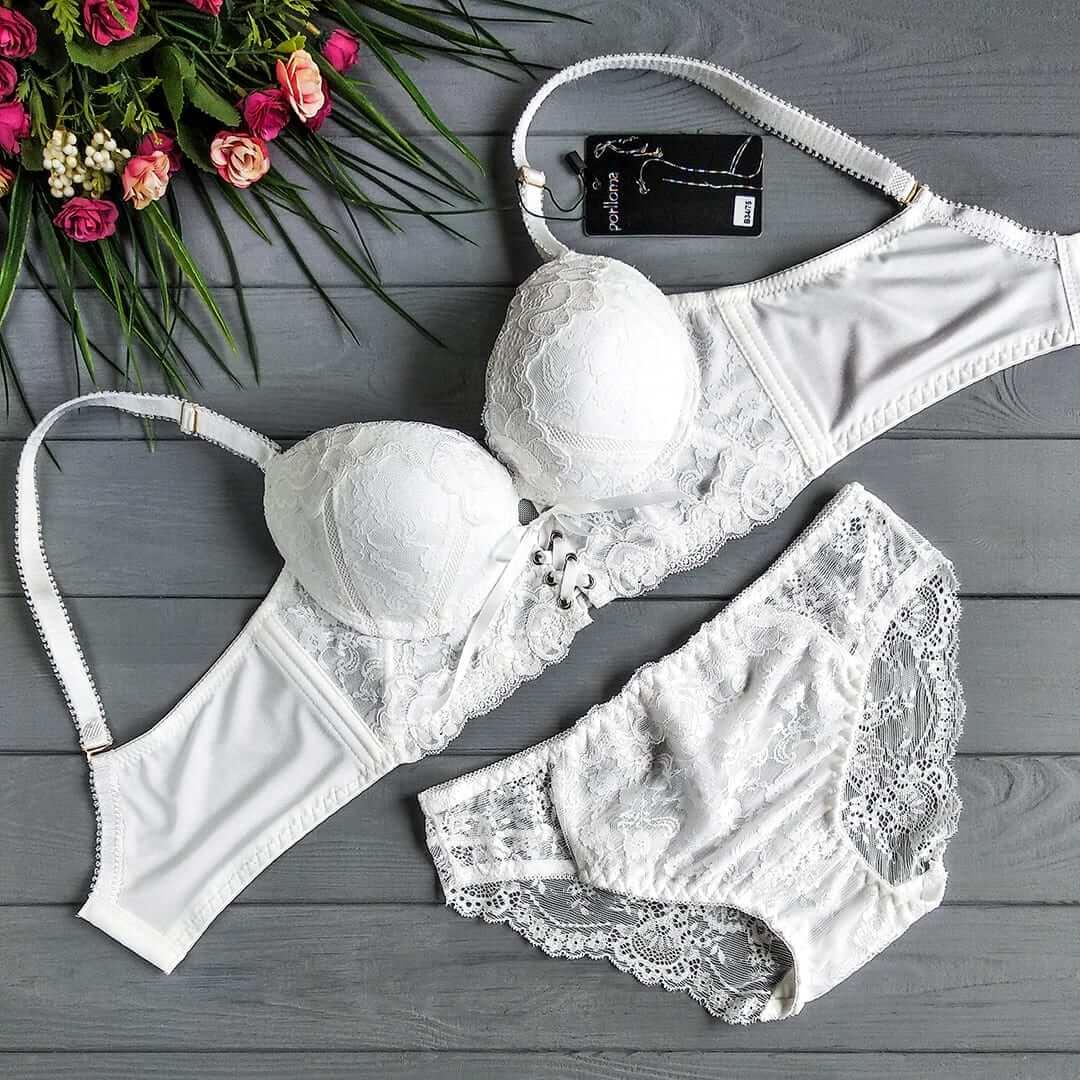 Porlloma1590 В Белый - комплект нижнего белья