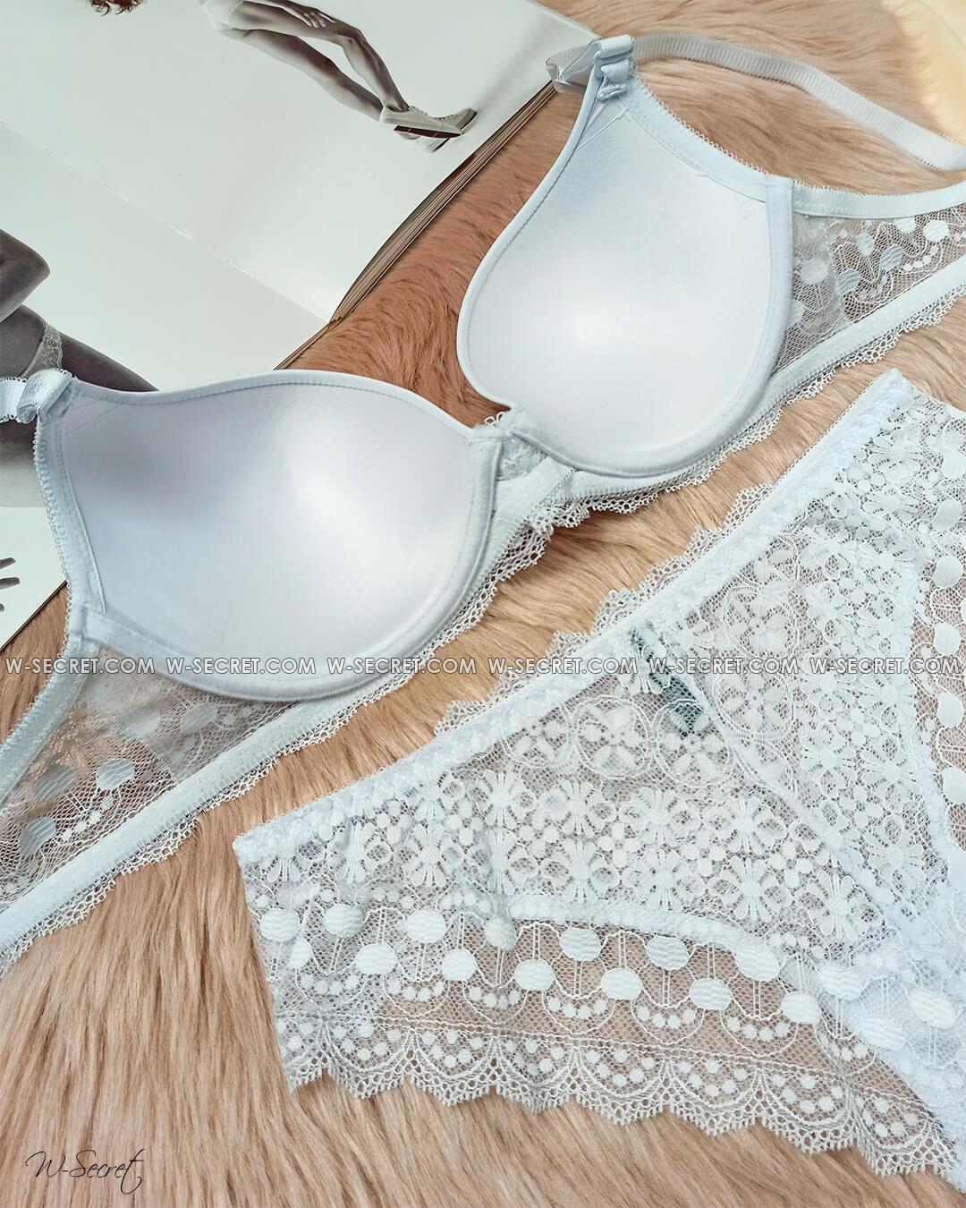Weiyesi 5867 C Білий - комплект нижньої білизни