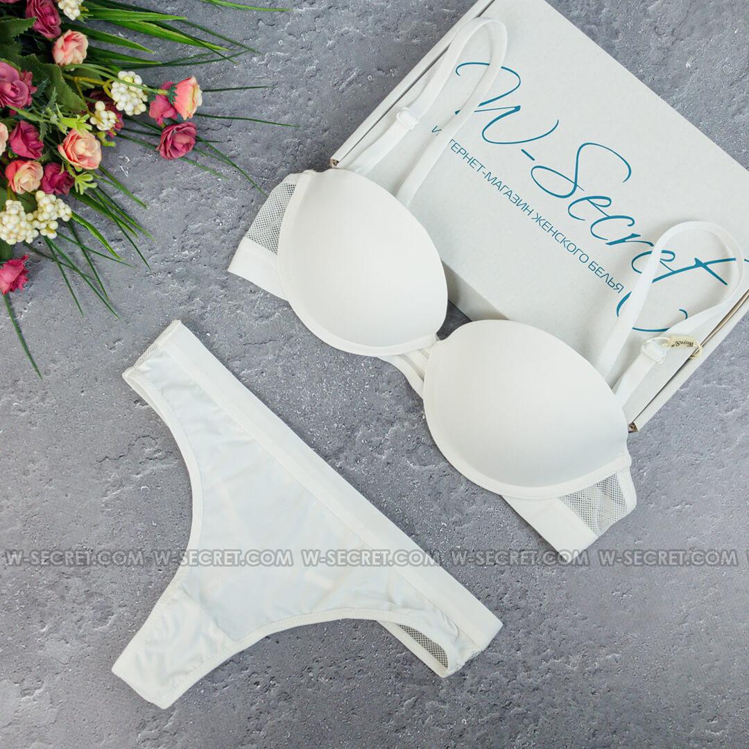 Weiyesi 2070 В Белый- комплект нижнего белья