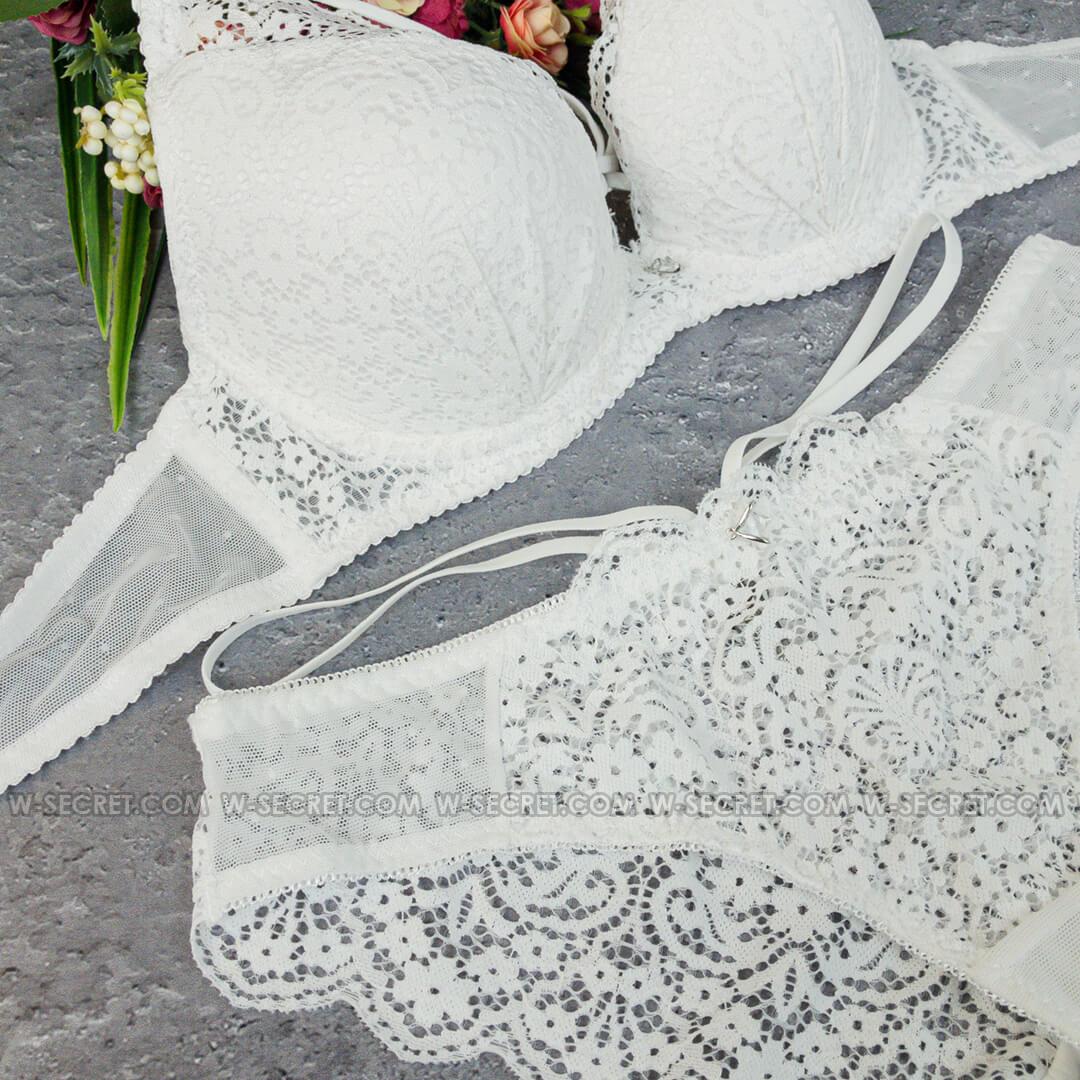 Weiyesi 7045 В Белый - комплект нижнего белья