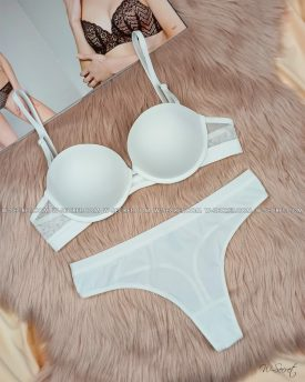 Weiyesi 2070 В Белый - комплект нижнего белья