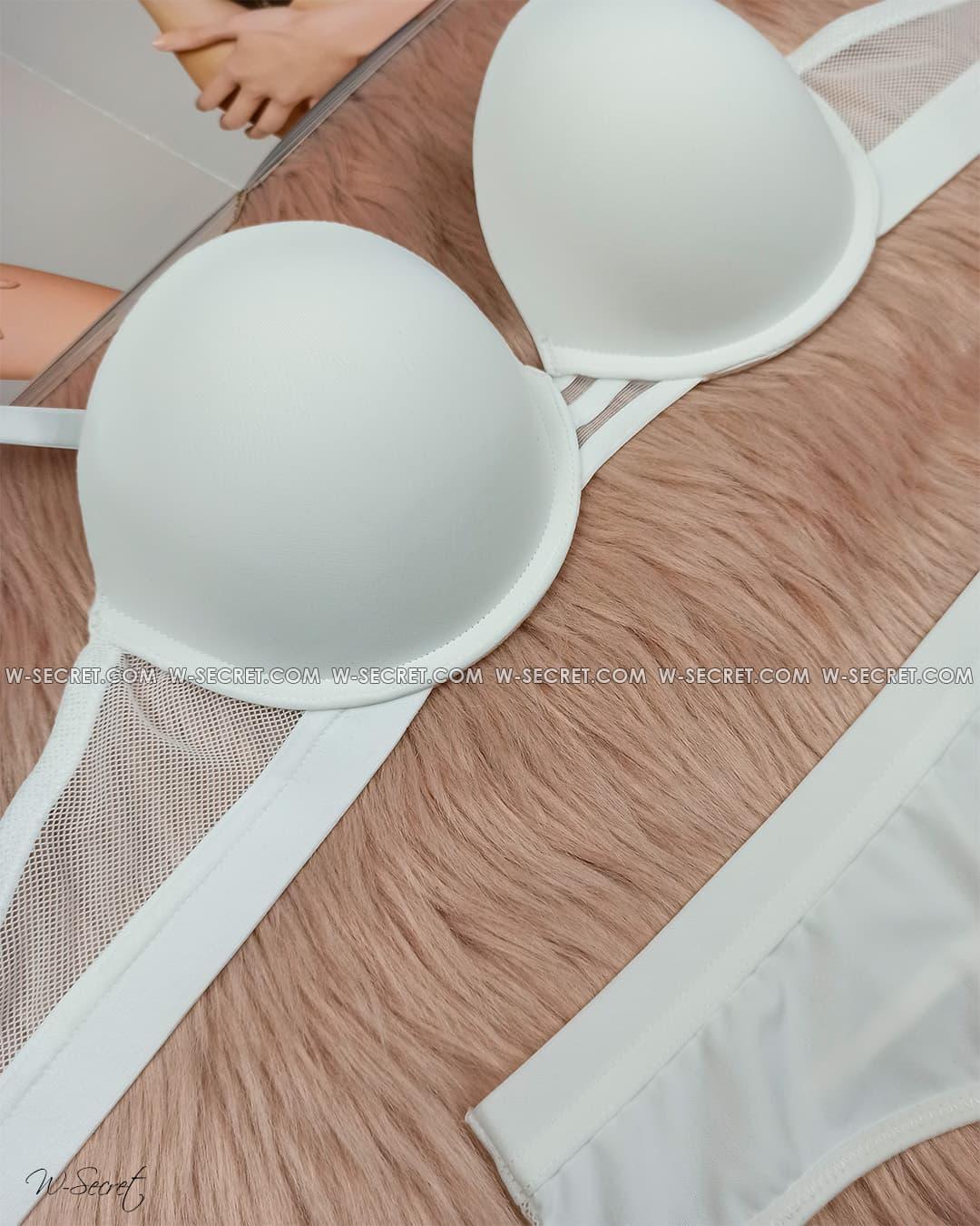 Weiyesi 2070 В Білий - комплект нижньої білизни