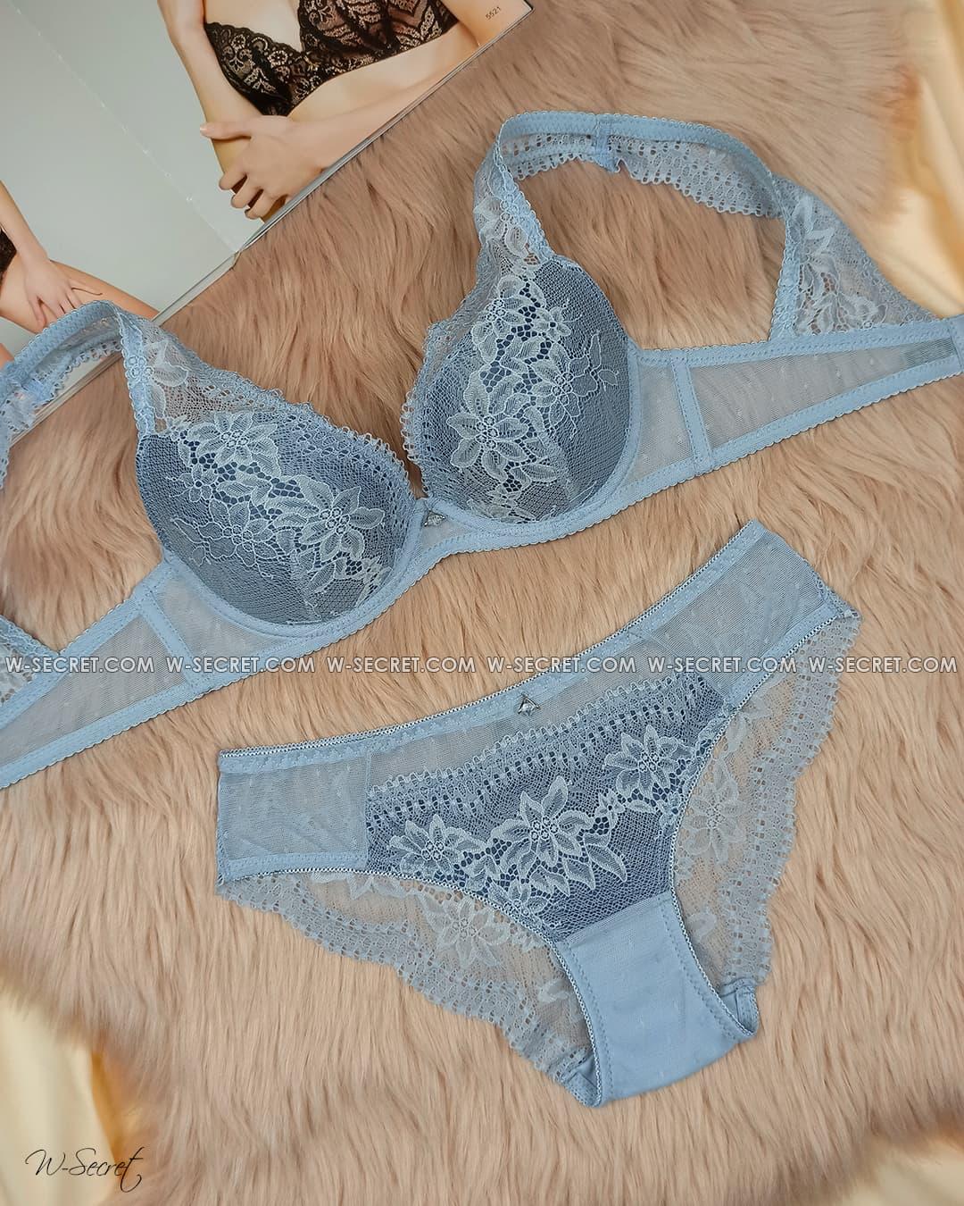 Weiyesi 7060 B Голубой комплект нижнего белья