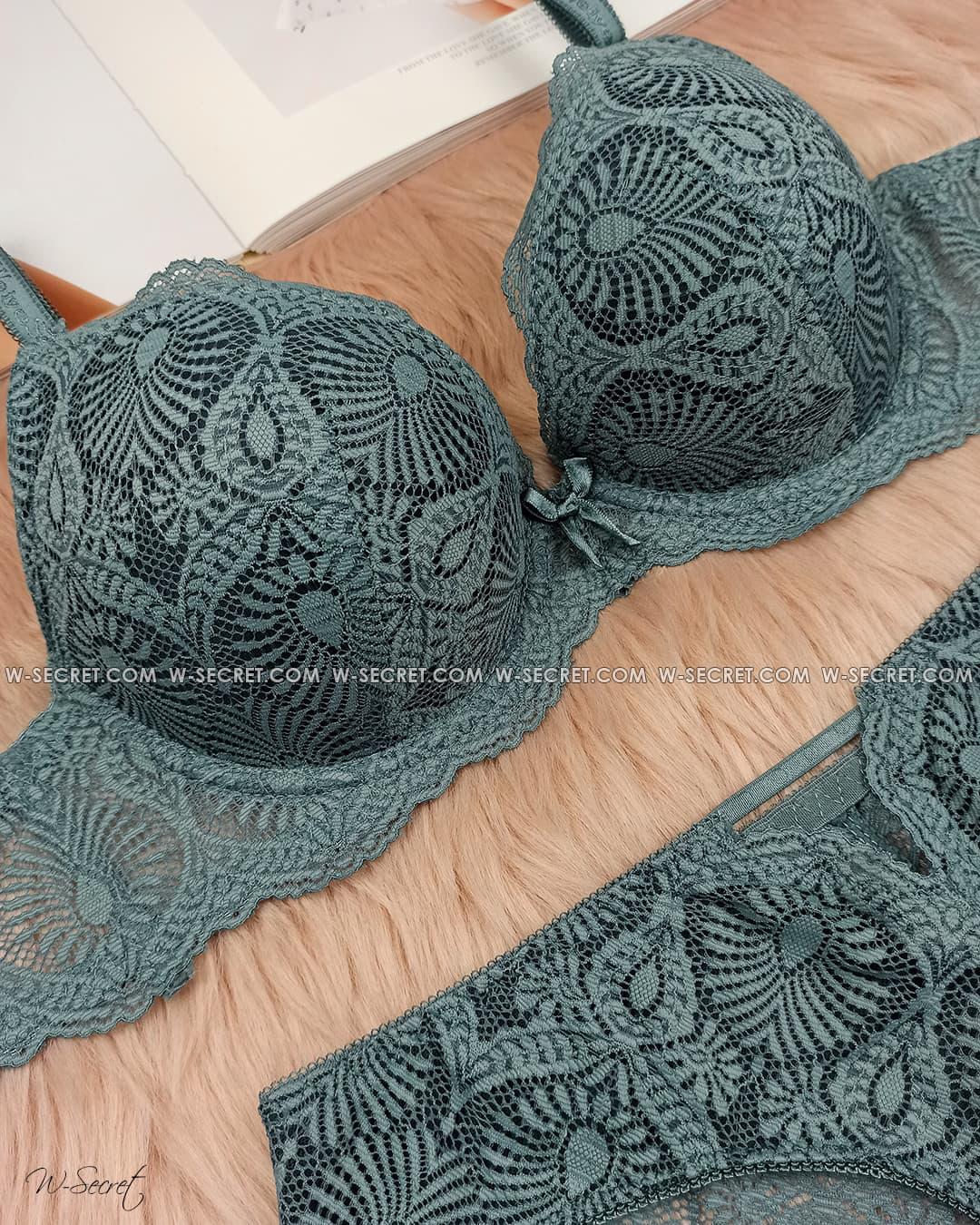 Weiyesi 8127 C Изумруд комплект нижнего белья