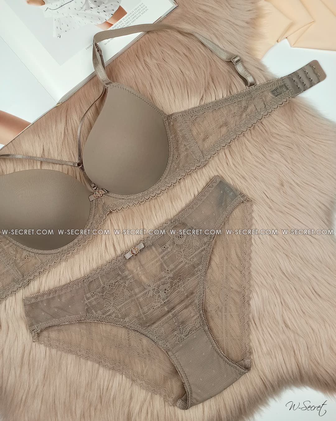 Weiyesi 7068 C Капучино комплект нижнего белья